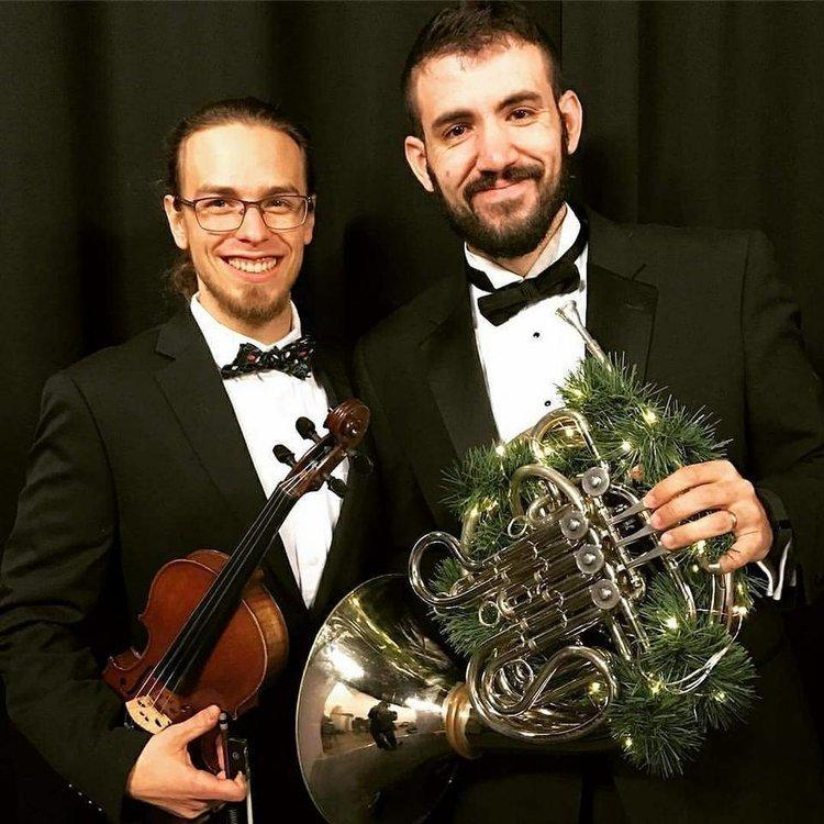 Jeremy Cuebas Luke Lyons Violin Horn