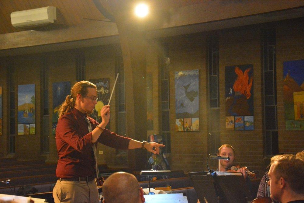 Jeremy Cuebas Conductor Zion Right Photo