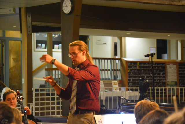Jeremy Cuebas Conductor at Zion